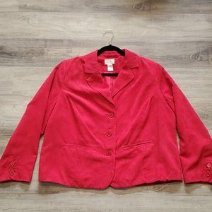 Studio Works 18W soft Red Jacket